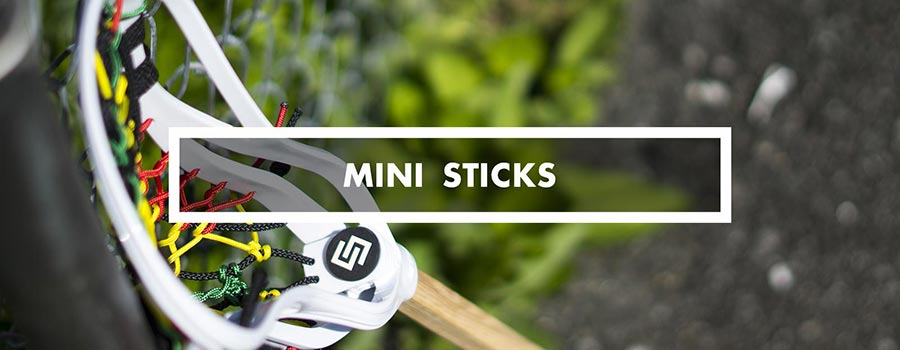 Category - mini lacrosse sticks pockets
