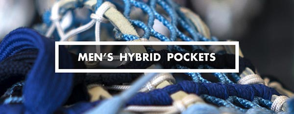 Category - mens hybrid lacrosse pockets