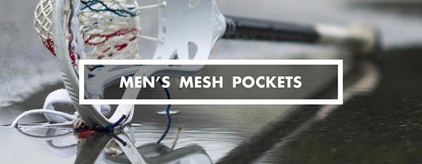 Category - mens mesh lacrosse pockets