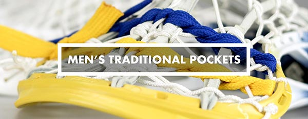 Category - mens traditional lacrosse pockets