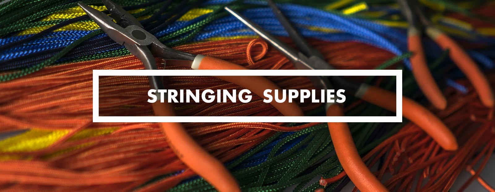 Category - lacrosse stringing supplies