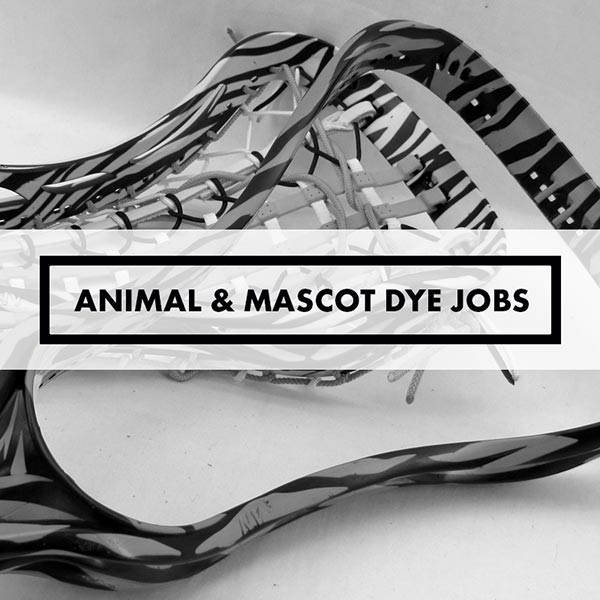 Lacrosse Sticks - Dye Jobs - Animals & Mascots