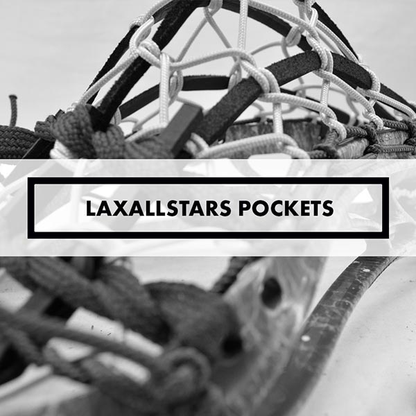 Men's Pockets & Stringing - Lacrosse All-Stars Exclusive Pockets