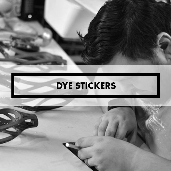 Dye Stickers & Glue