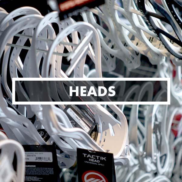 Lacrosse Heads Unstrung, STX, ReeBok, Gait, DeBeer, Harrow