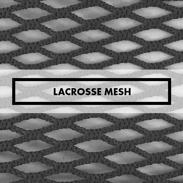 Lacrosse Mesh, Waxed, Hard, East Coast, Jimalax, Gonzo, Soft, Rubber