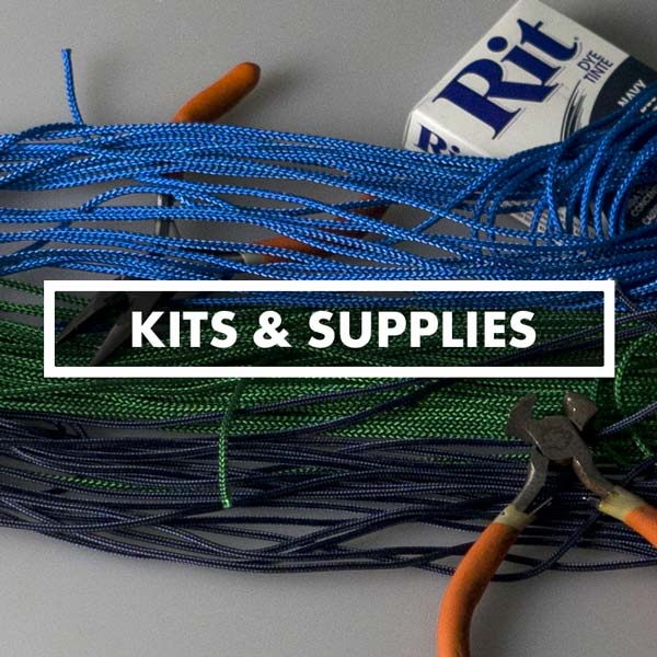 Lacrosse Stringing Kits - Mesh, Goalie, Traditional, & Women's Pockets