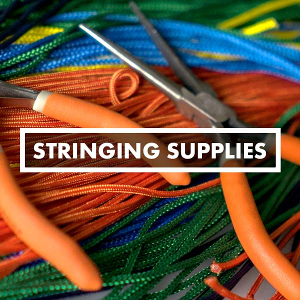 Lacrosse Mesh & Stringing Supplies, Sidewall, Crosslace, Shooters