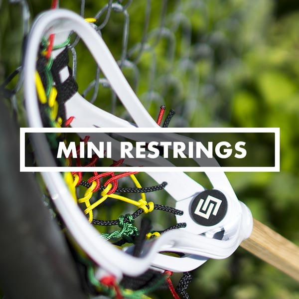 Men's Lacrosse Pockets, Stringing, Mesh, Traditional & Hybrids