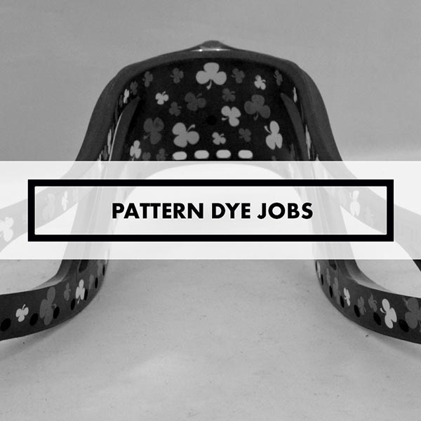 Lacrosse Sticks - Dye Jobs - Patterns