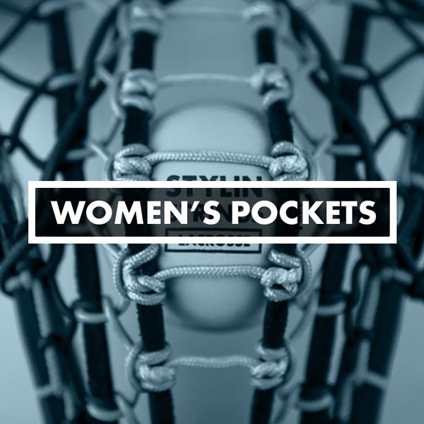 Women's Lacrosse Pockets, Stringing, STX Runway, DeBeer Gripper Pro