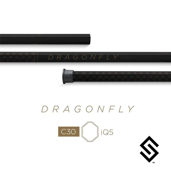 Epoch Dragonfly C30 iQ5 Men's Lacrosse Shaft Black