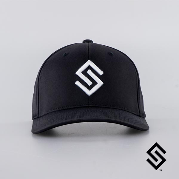 Stylin' Strings Performance Fitted Hat Black S/M