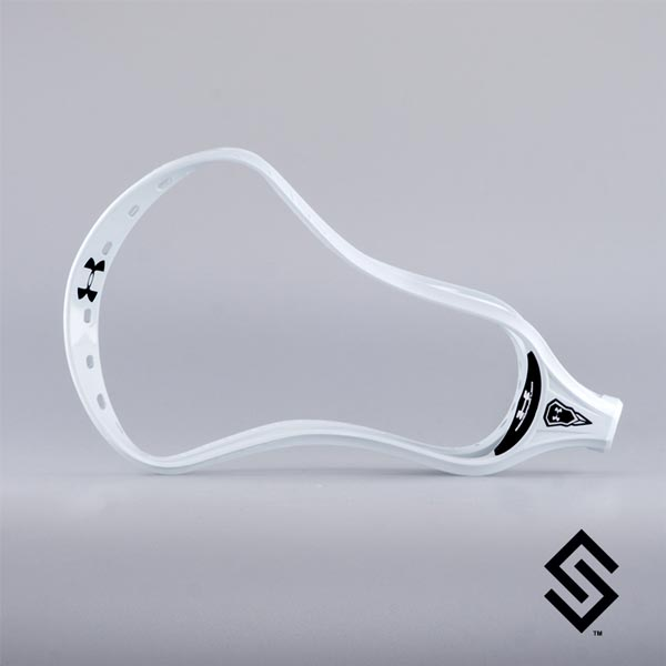 Under Armour Command LOW Lacrosse Head Universal Unstrung White