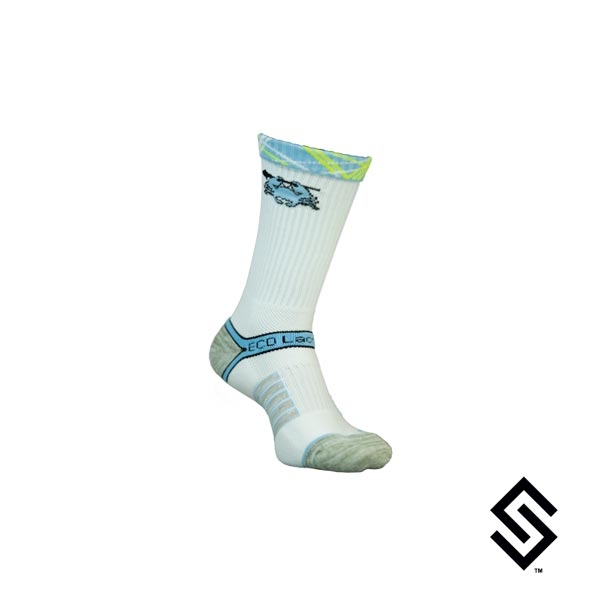 ECD Performance Socks Signature White Small/Medium (4-9)