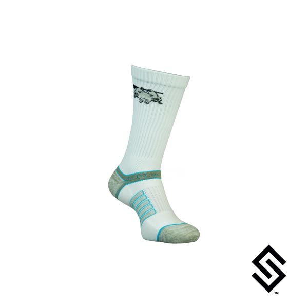 ECD Performance Socks White Small/Medium (4-9)