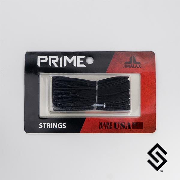 Jimalax Prime Lacrosse Strings Pack Black