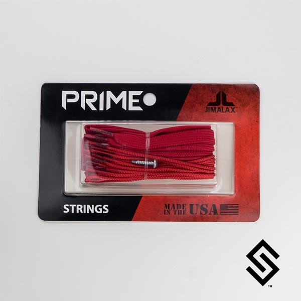 Jimalax Prime Lacrosse Strings Pack Red