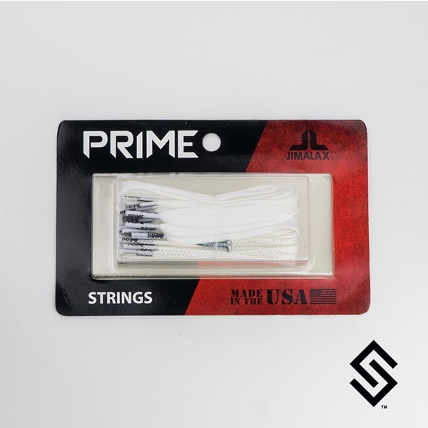 Jimalax Prime Lacrosse Strings Pack White