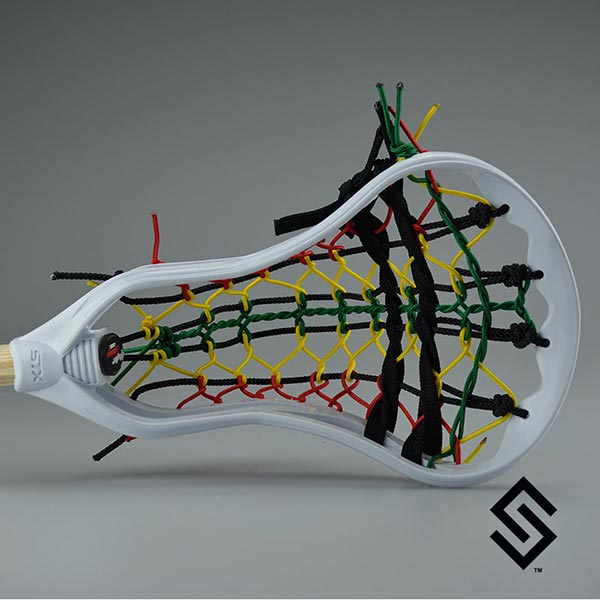The Rasta - Stylin Strings STX Super Power Mini Pita Lacrosse Fiddle Stick
