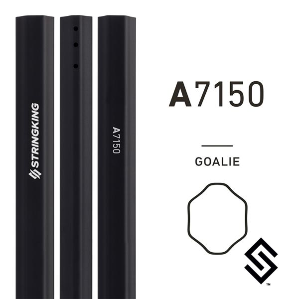 StringKing A7150 Lacrosse Shaft Black