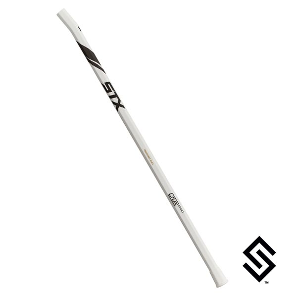 STX Crux 600 Precision Flex Women's 10 Degree Lacrosse Shaft - White