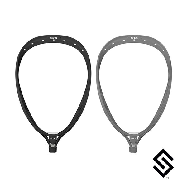 STX Eclipse II Lacrosse Goalie Head - Unstrung Manufacturer Black