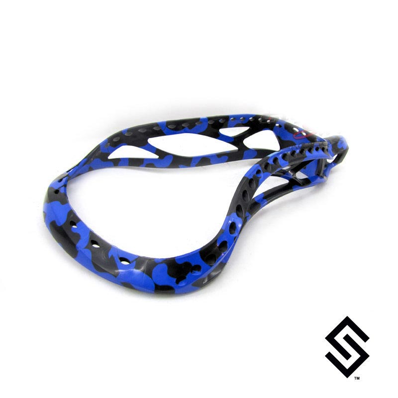 Stylin Strings Two Color Camo Custom Lacrosse Dye Job