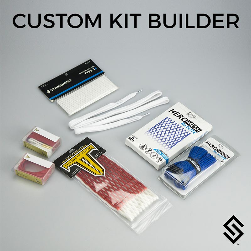 Stylin Strings Custom Lacrosse Mesh Stringing Kit