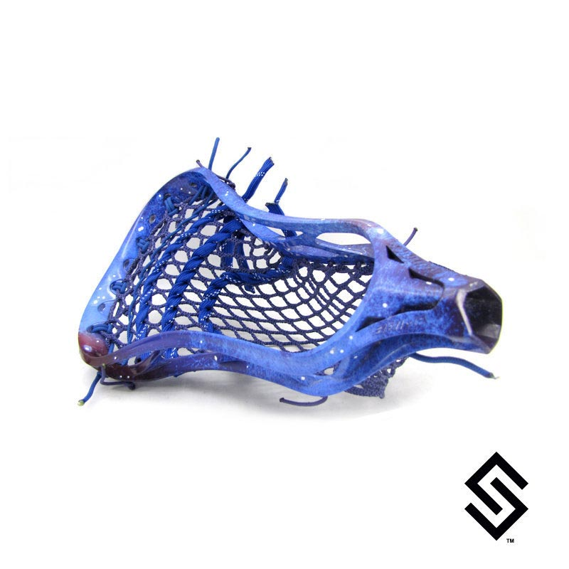 Stylin Strings Galaxy Lacrosse Dye Job