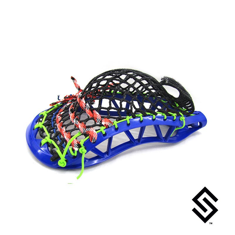 Stylin Strings STRAIGHT-UP Mesh Lacrosse Pocket