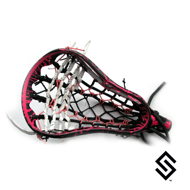 Stylin Strings Two Color Glue Pin Lacrosse Dye Job
