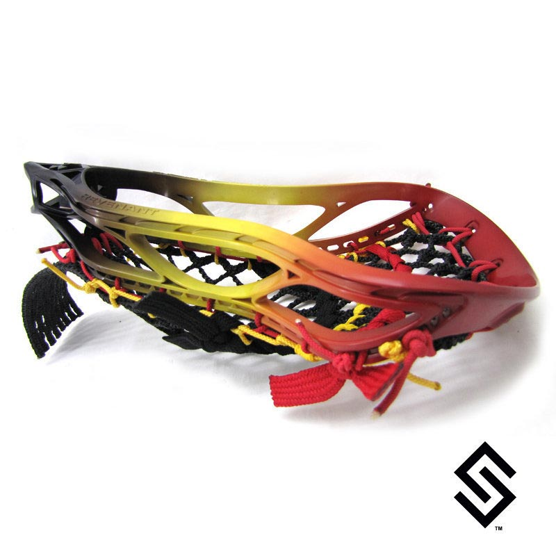 Stylin Strings Three Color Fade Lacrosse Dye Job