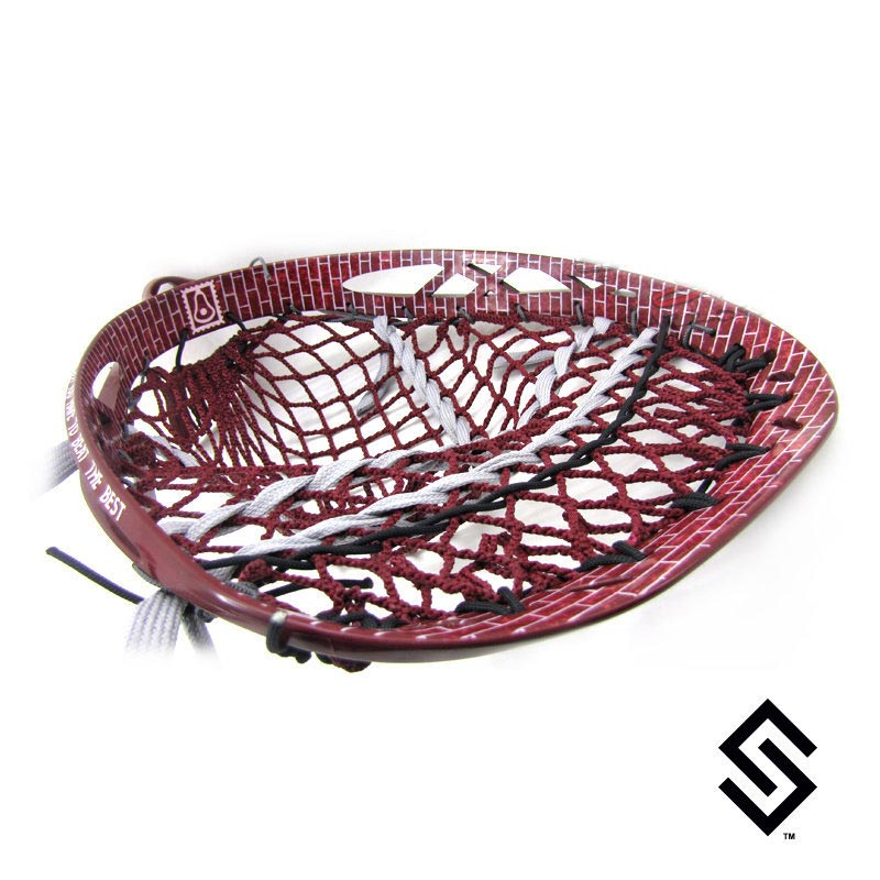StylinStrings Brick Wall Lacrosse Dye Job