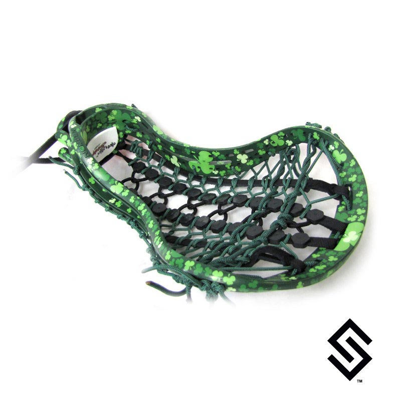 Stylin Strings Clover Full Wrap Custom Lacrosse Dye Job