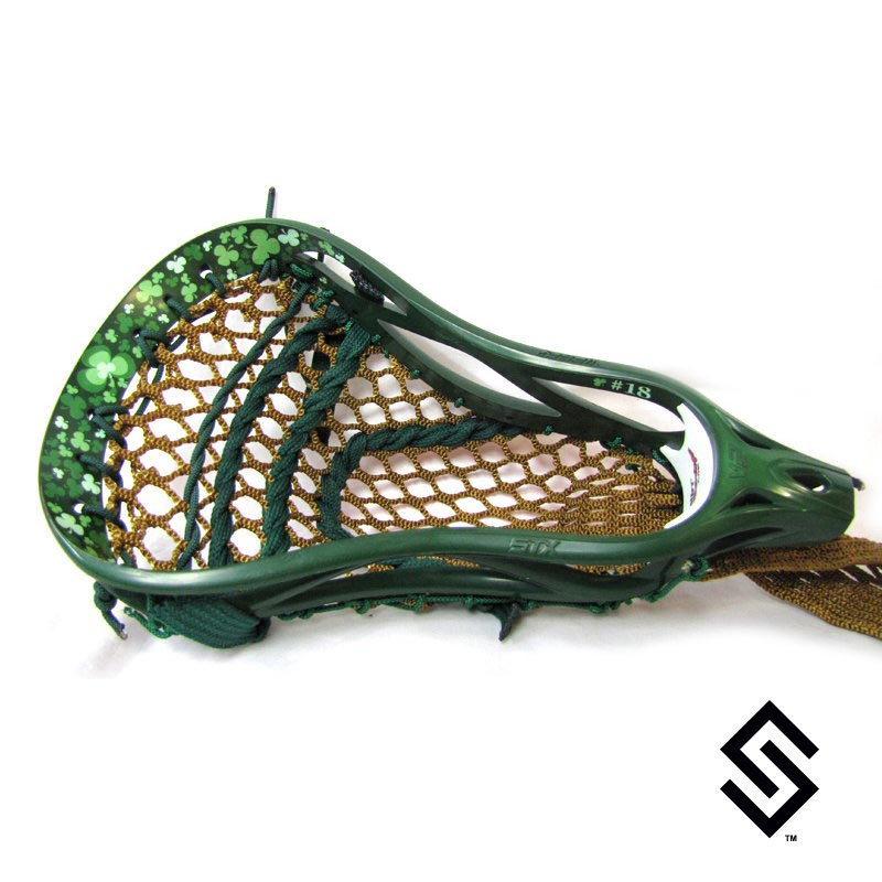 Stylin Strings Clover Lip Only Custom Lacrosse Dye Job