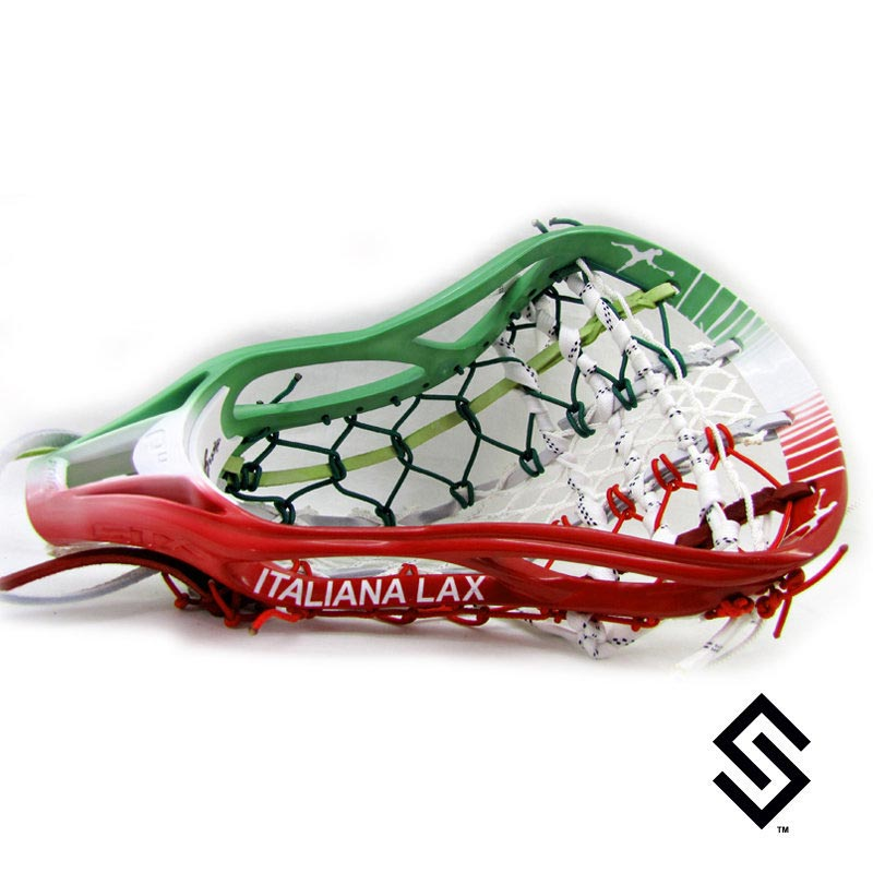 Stylin Strings Italy Lacrosse Dye Job