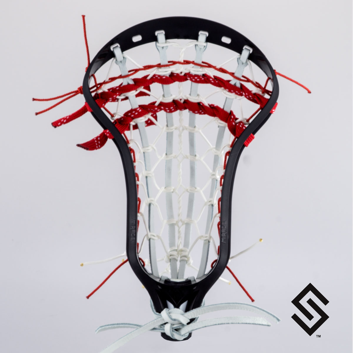 Stylin Strings 2 Color Splatter Lacrosse Dye Job