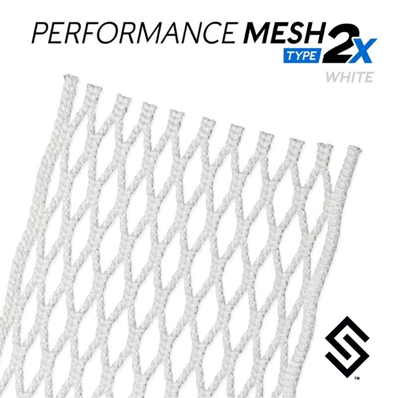 StringKing Performance Mesh Type 2x White