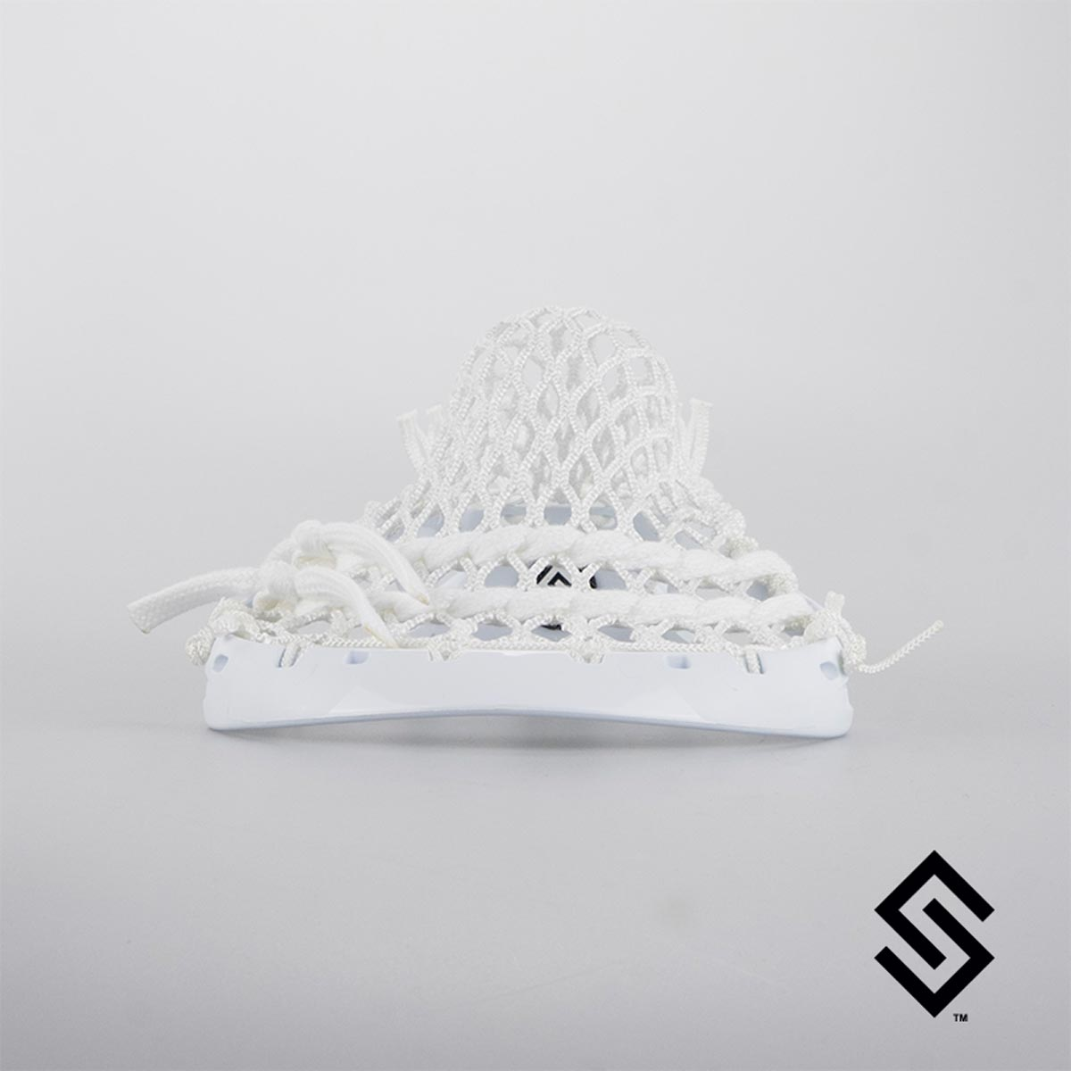 Under Armour Command X Lacrosse Head PRESTRUNG with Face-off Pocket