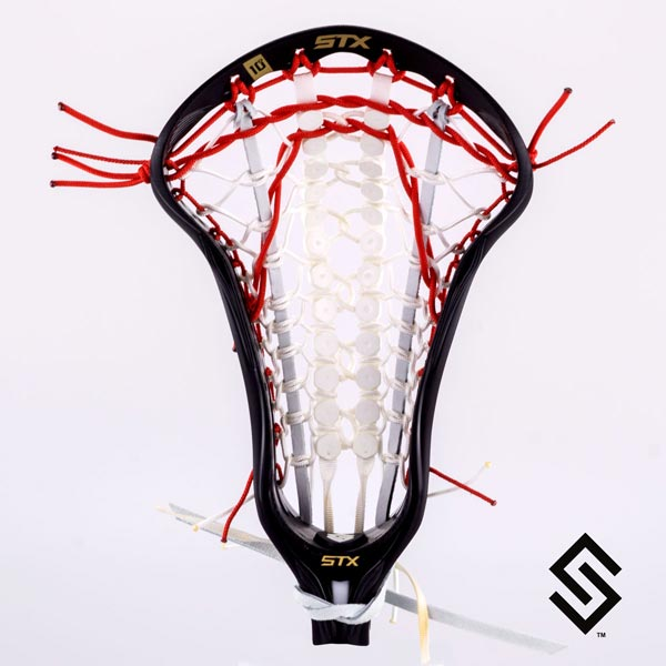 Stylin Strings Girl String Runway Women's Custom Lacrosse Pocket