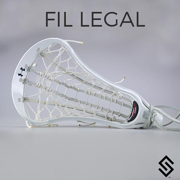 Stylin Strings FIL Legal Women's Ladder Custom Lacrosse Pocket - NCAA & USL Legal