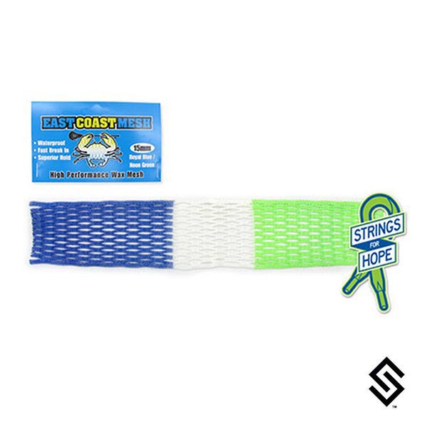 East Coast HEADstrong Lacrosse Mesh