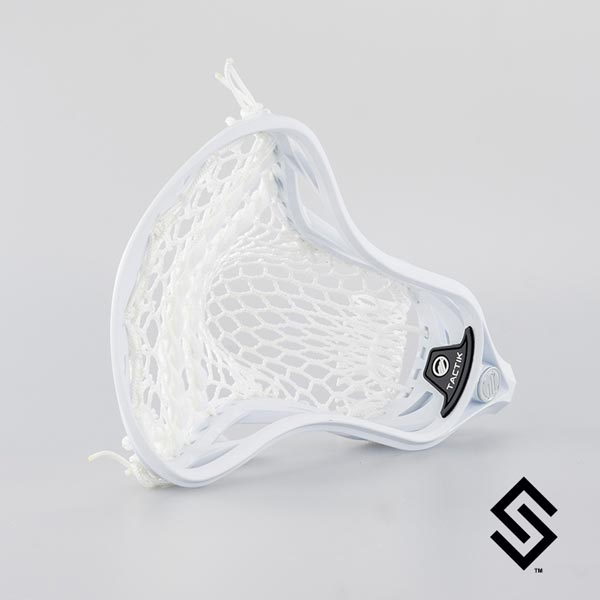 Maverik Tactik Lacrosse Head Prestrung With Sniper Hero 2.0 Pocket