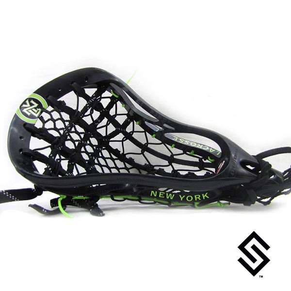 New York Lizards MLL Lacrosse Dye Job by Stylin' Strings One Color with Logo