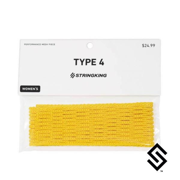 StringKing Type 4 Women's Mesh Yellow