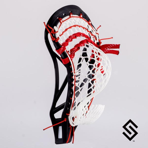 Stylin Strings High Bird Mesh Lacrosse Pocket - NCAA/NFHS