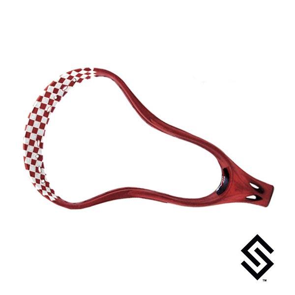 Stylin Strings One Color Checker Lip Only Custom Lacrosse Dye Job