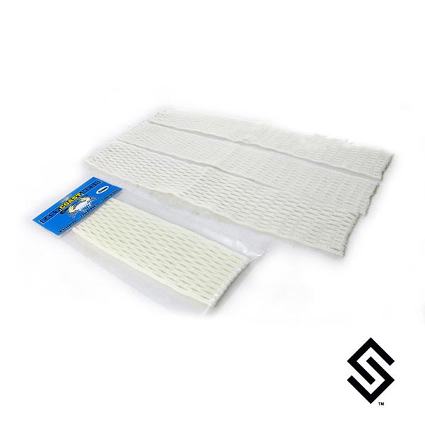 East Coast White Lacrosse Mesh