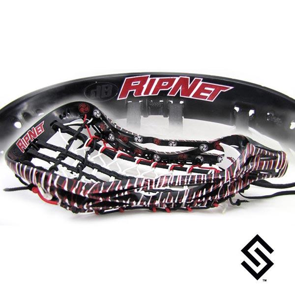 Stylin Strings RipNet Premium Custom Lacrosse Dye Job